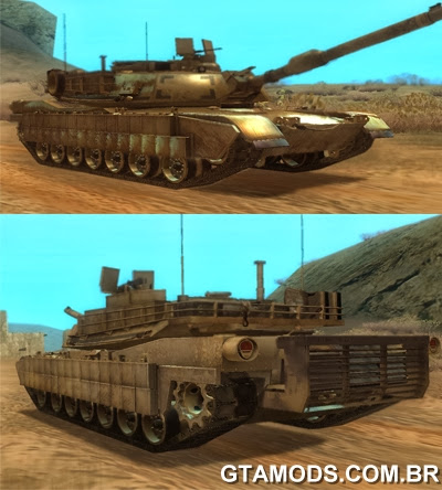 Tanque M1A2 Abrams do CoD Ghosts