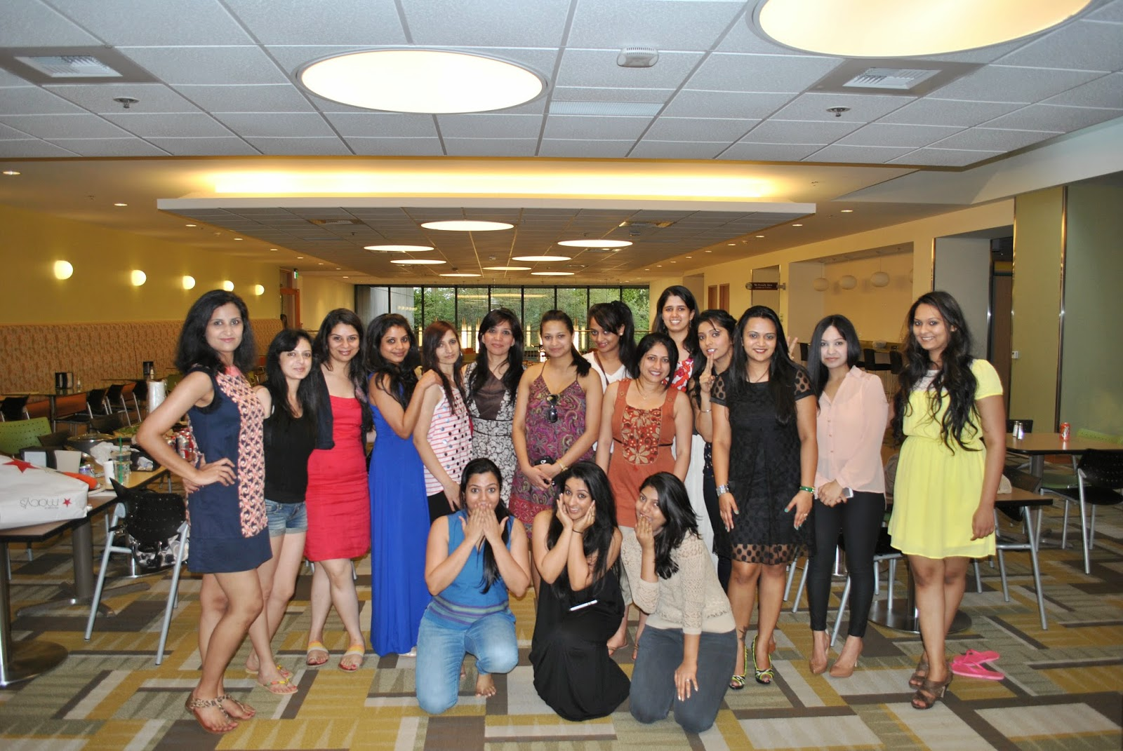 Mrs India Washington USA 2014, beauty pageant, Practice sessions for an beauty pageant , behind the scenes, beautiful ladies