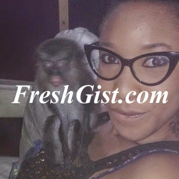 Pictures: Tonto Dikeh's Monkey And 6 Dogs: Is This Animal Kingdom?