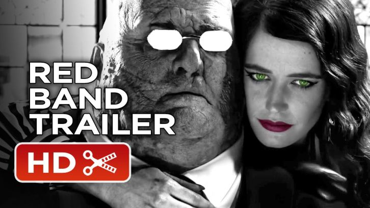 MOVIES: Sin City: A Dame To Kill For - Comic-Con Red Band Trailer