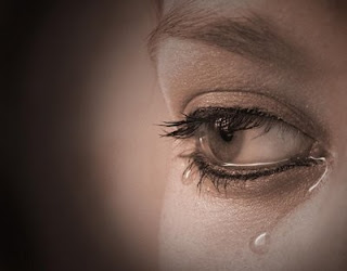 Eyes with Tears