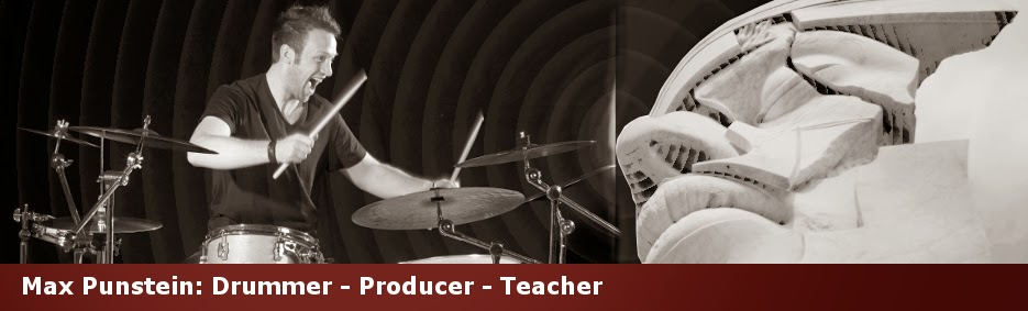 Max Punstein - Drummer Composer Producer Teacher