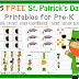 15 FREE St. Patrick's Day Printables for Toddlers and Pre-K