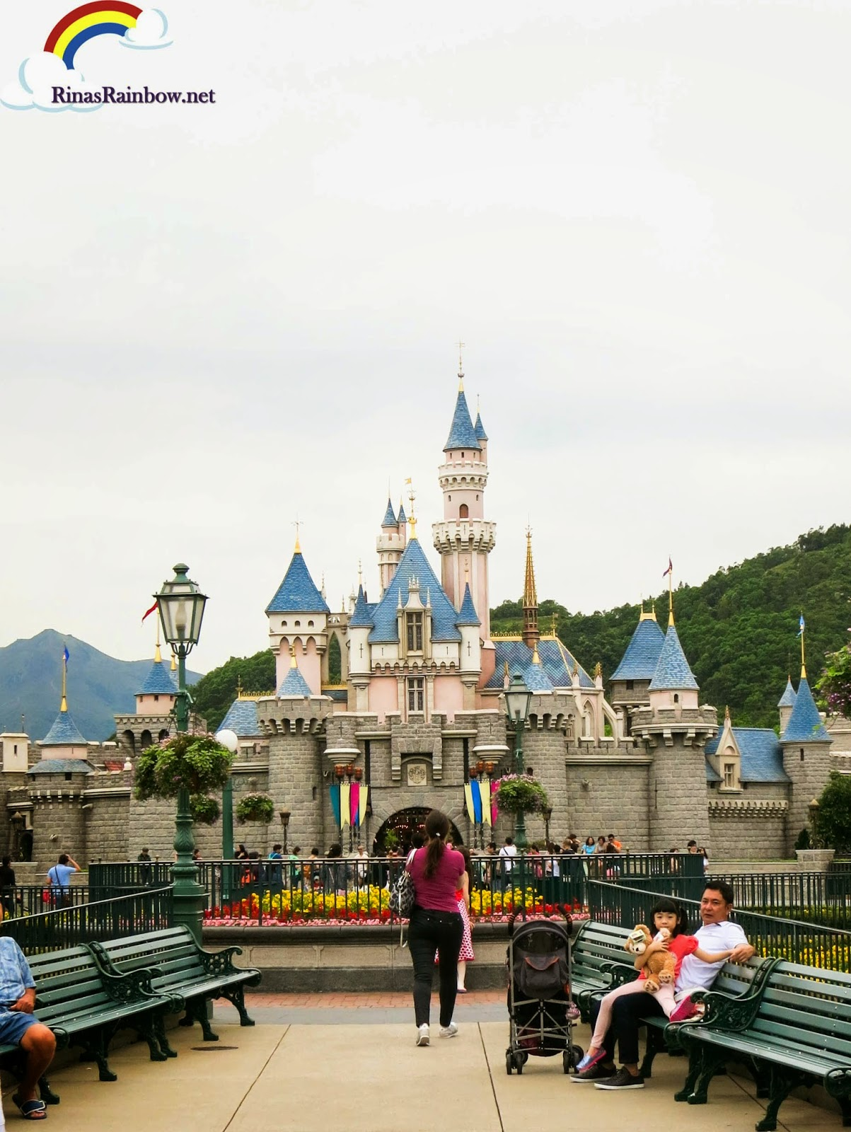 Disney Castle Hong Kong