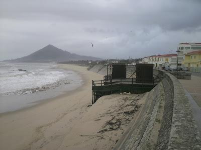 """Fotofrafia do Bar da praia de Moledo - """"Café com Gelo""""."""