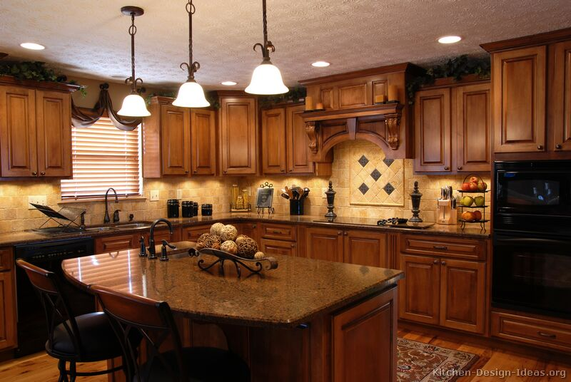 Tuscan kitchen decor design ideas home interior designs for Kitchen design ideas pictures