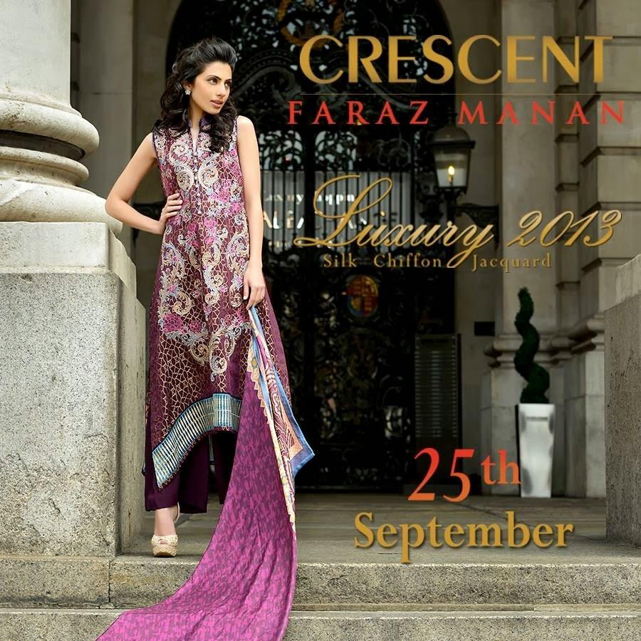 CRESCENTFarazMananLuxury2013 011 wwwFashionhuntworldblogspotcom - Crescent Faraz Manan Luxury Fall/Winter 2013-14