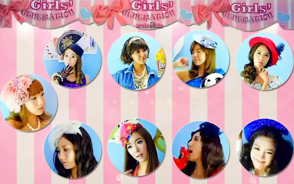 All About Me and K-pop ♥: Lirik Lagu SNSD : SNSD - Gee ...
