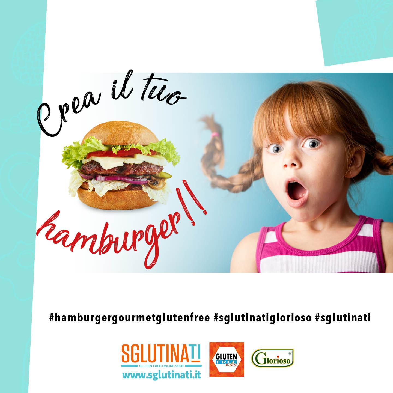 Crea il tuo hamburger!!