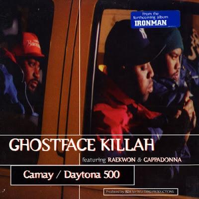 Ghostface Killah Featuring Raekwon & Cappadonna - Camay / Daytona 500 (Promo CDS) (1996) (192 kbps)