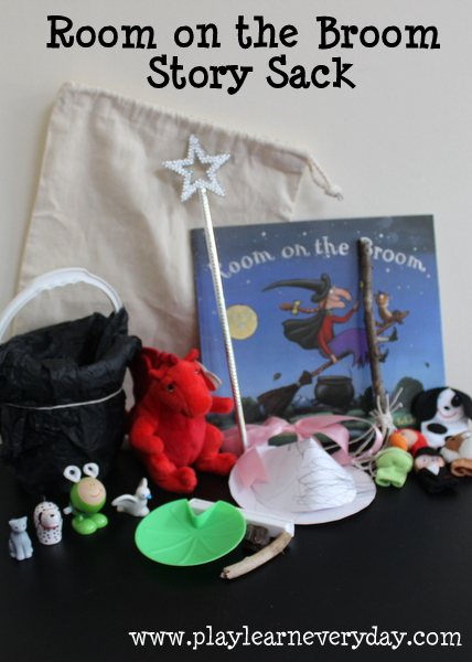 room on the broom story sack play and learn every day. Black Bedroom Furniture Sets. Home Design Ideas