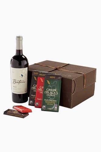Green & Black's Dark Chocolate & Red Wine Gift Box
