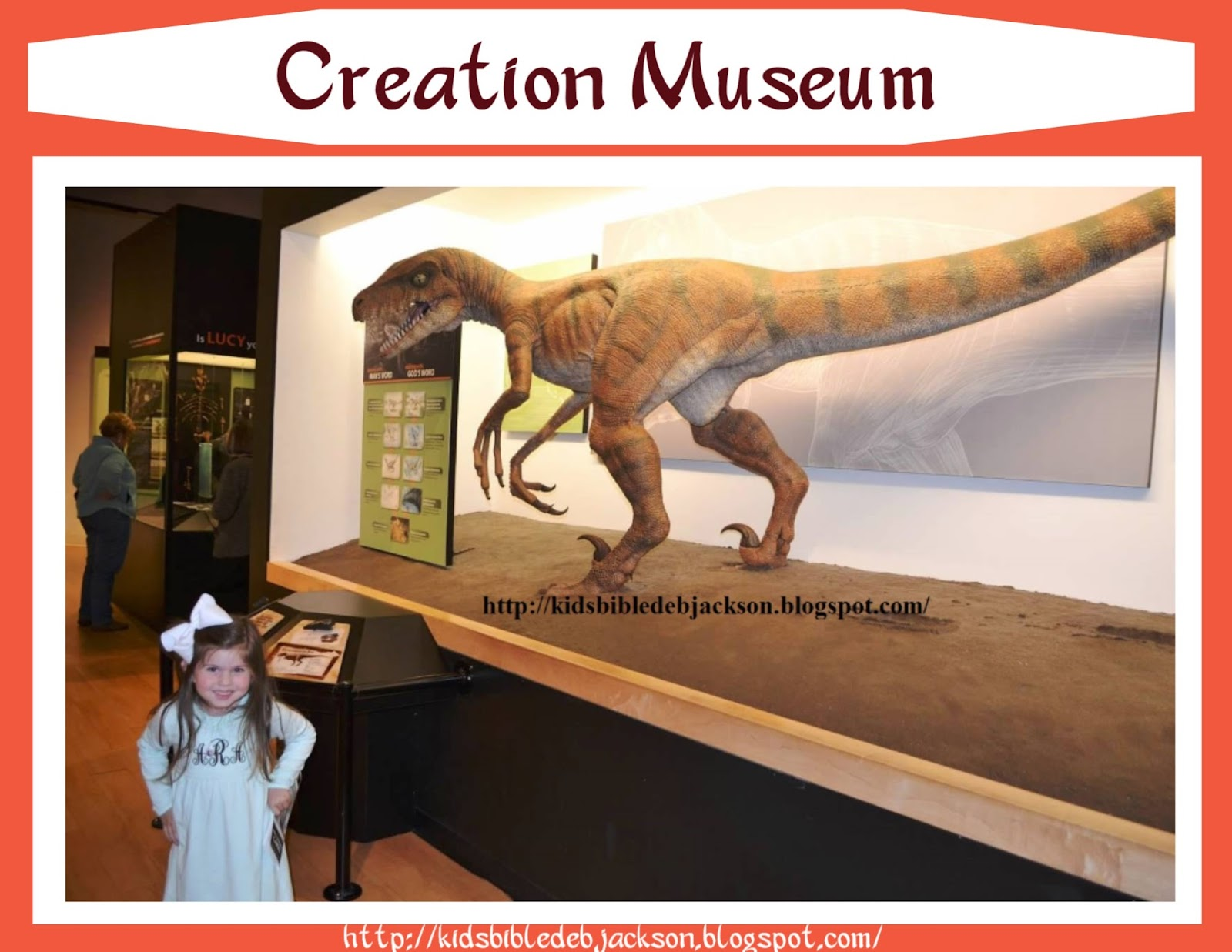 Bible Fun For Kids My Visit To The Creation Museum