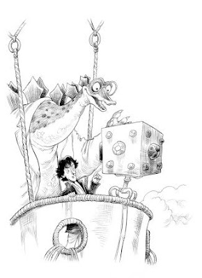 Fortunately, the Milk page illustration by Chris Riddell