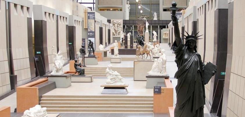 Nibelle et baudouin le mus e d 39 orsay r cup re la statue - Statue de la liberte jardin du luxembourg ...