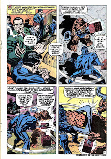 Fantastc Four v1 #93 marvel 1960s silver age comic book page art by Jack Kirby