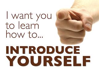 Contoh Introducing Your Self dan Cara Membuatnya