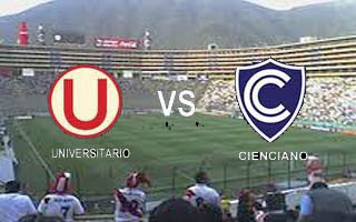 Universitario vs Cienciano