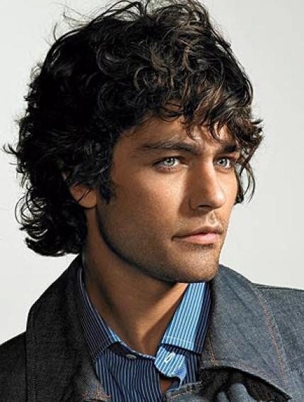 long hairstyles for men with curly hair. Grenier medium curly hair