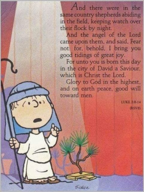 DC-Laus Deo: Linus Van Pelt on the Meaning of Christmas