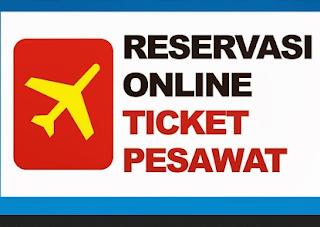 Reservasi Online Ticket Pesawat