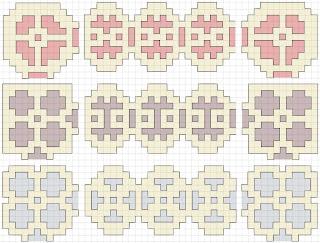 cross stitch border corner patterns