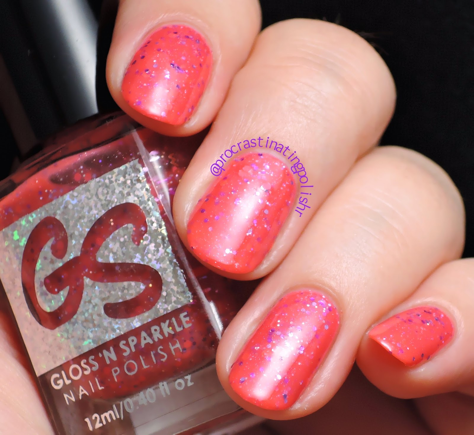 Gloss n Sparkle - A Face In The Crowd | Swatch