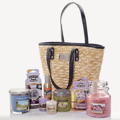 life inside the page yankee candle mother 39 s day tote. Black Bedroom Furniture Sets. Home Design Ideas