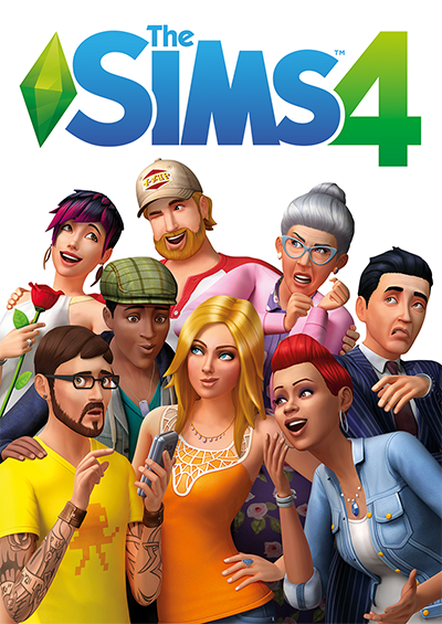 The Sims 4 Deluxe Edition Cover Game Image