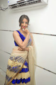Sanjjana Latest Glam pics in saree-thumbnail-20