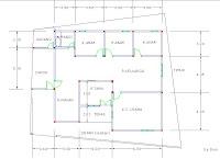 cara menggambar desain rumah dengan autocad