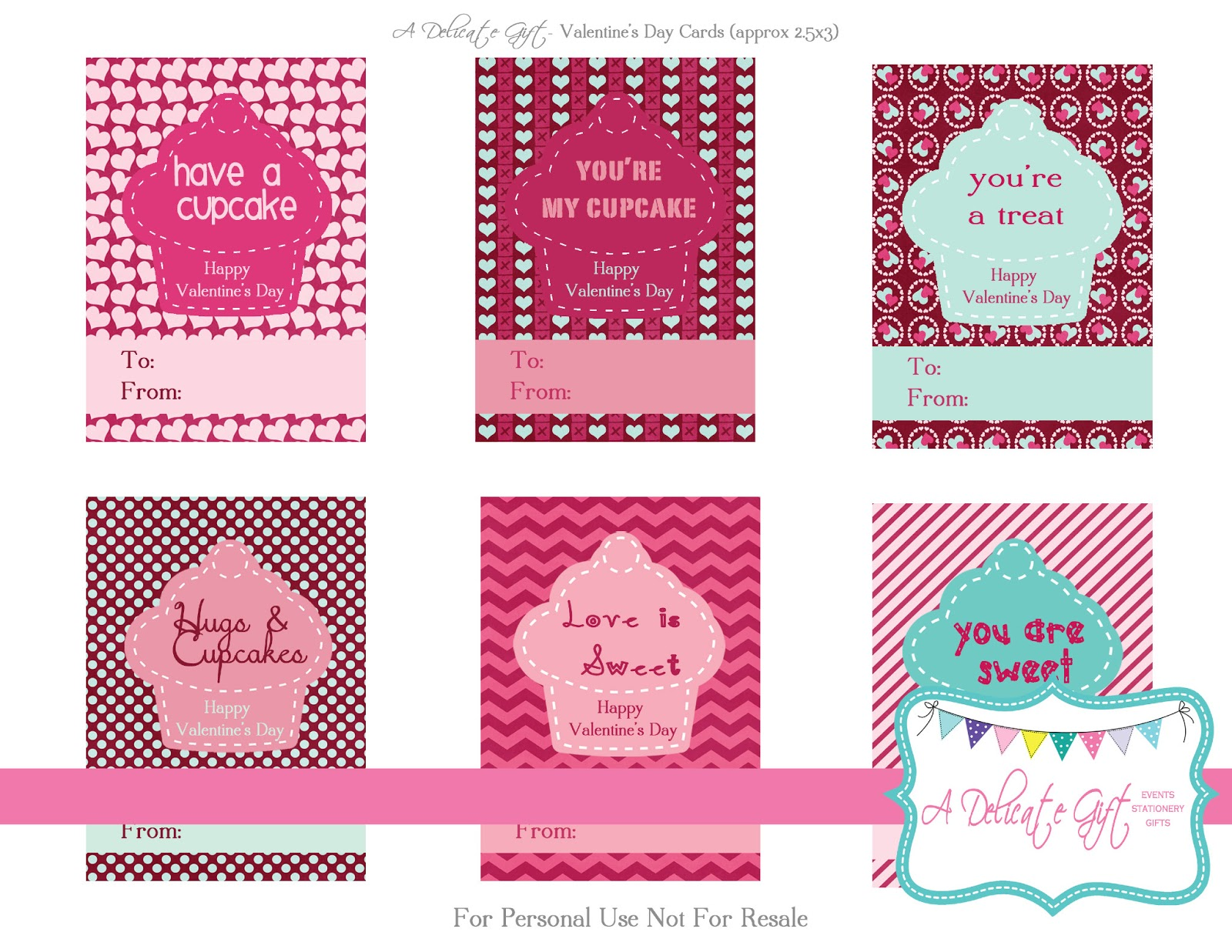 Valentines Day CardsTags FREEBIE a delicate gift – Free Printable Funny Valentines Day Cards