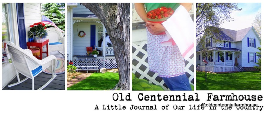Old Centennial Farmhouse Blog List