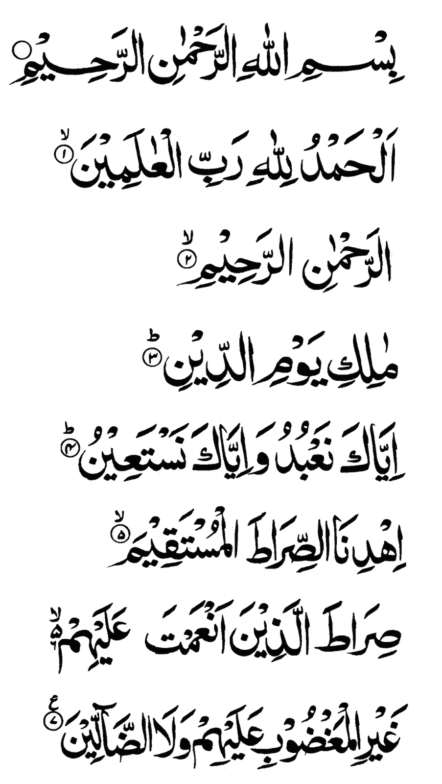 surah al fatiha Sura al-fatiha, the first chapter of the quran, is recited in every unit of prayer and some units of prayer also involve recitation of all or part of any other sura.