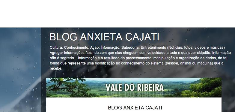 Blog Anxieta Cajati
