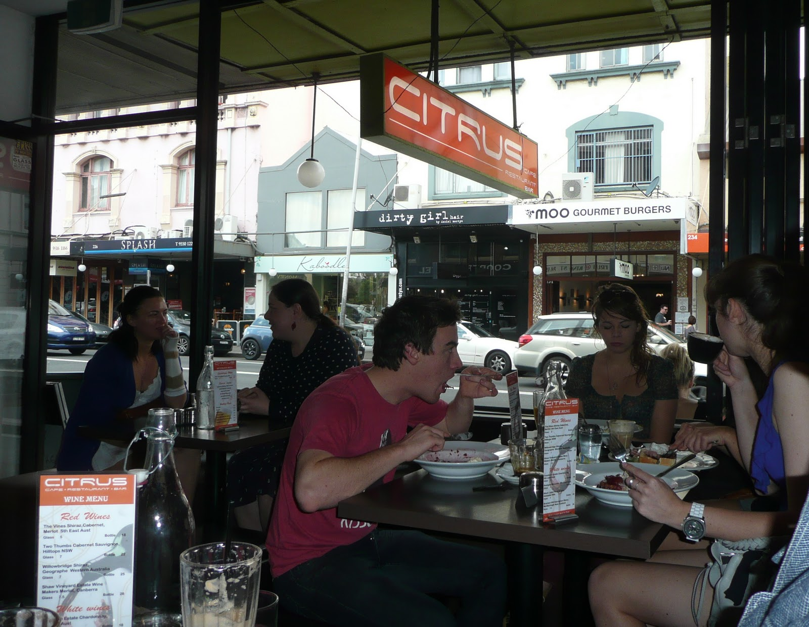 South End Cafe King St Newtown