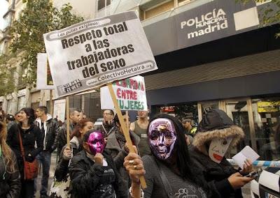 la prostitución colectivos de prostitutas