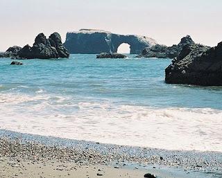 Sea Arch, California