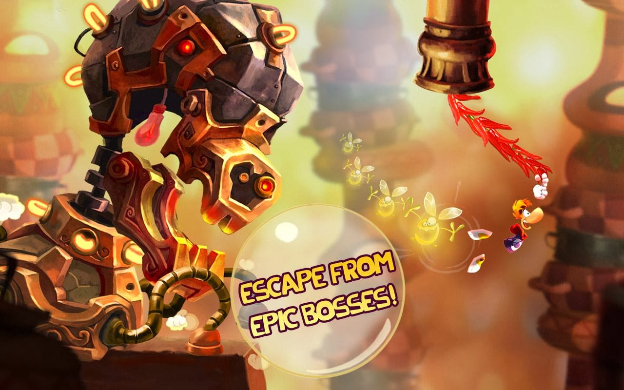 Rayman Fiesta Run 1.1 full apk game