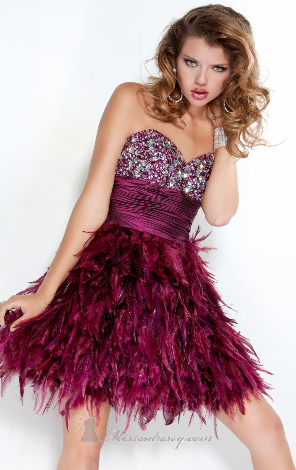 su lado salvaje algunos de los vestidos de fiesta para el 2012 ofrecen