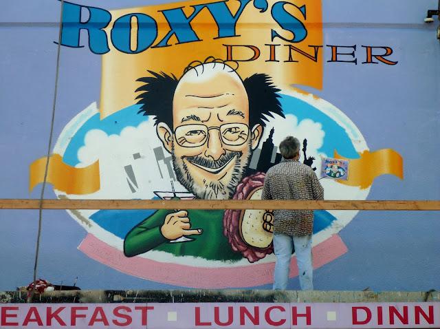Roxy's Diner Mural