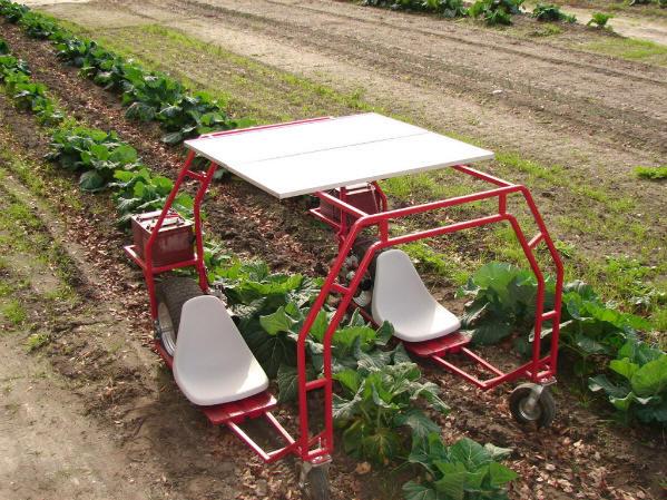 This is randy s pretty amazing solar powered garden helper machine