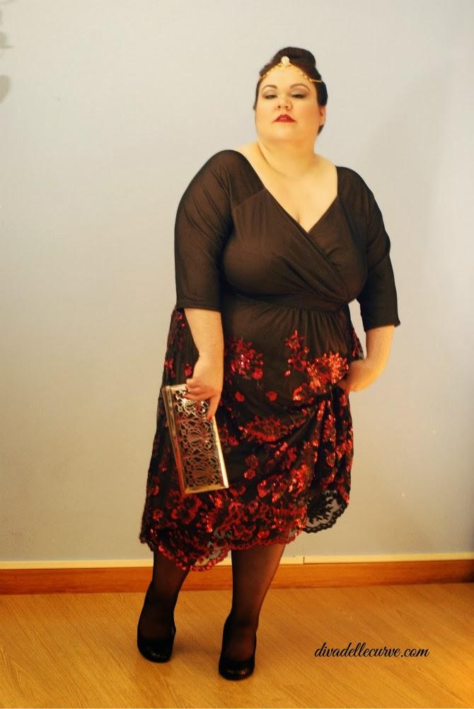 outfit plus size per capodanno