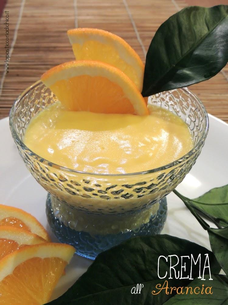 Crema all'arancia - www.lapasticceriadichico.it