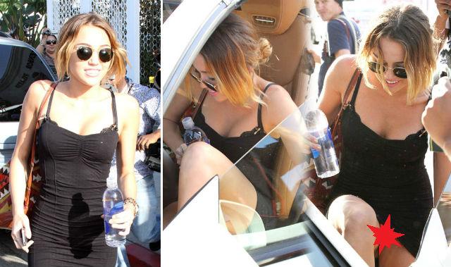 Foto Miley Ganhou Polemica Por Suspeitamente Aparecer Sem Calcinha
