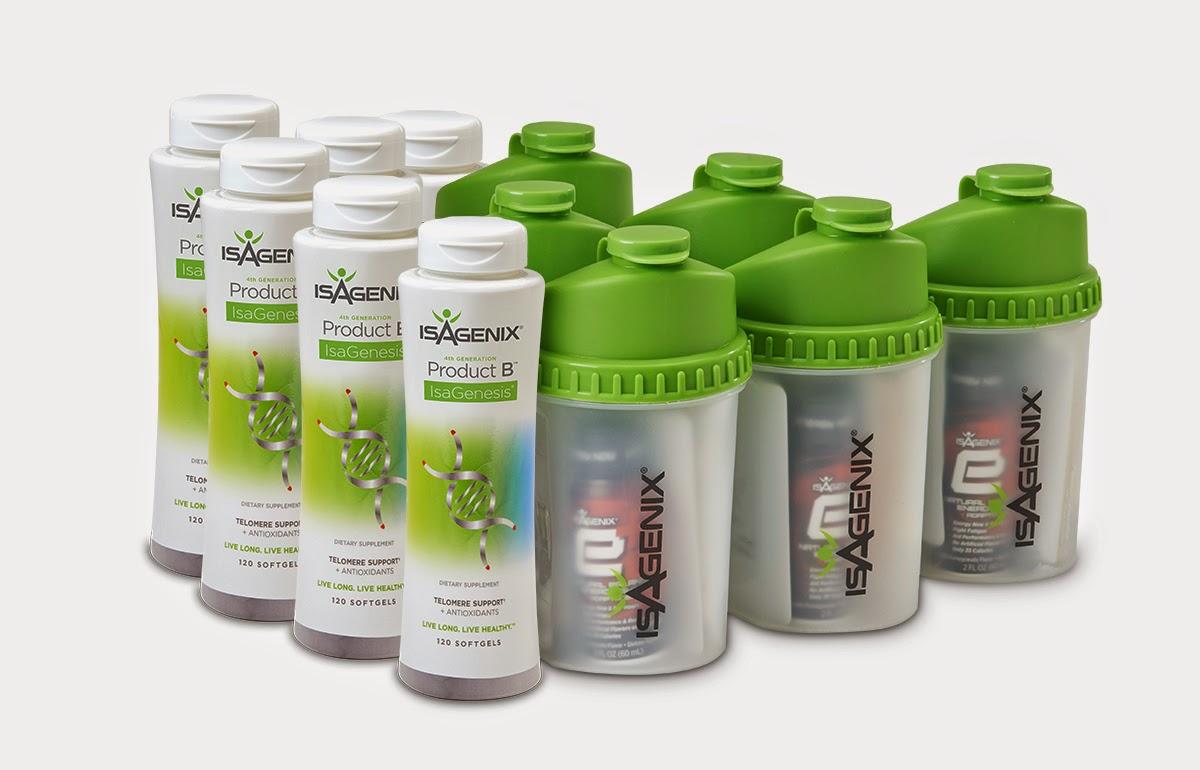 Product B IsaGenesis sống khỏe vui vẻ là một sự pha trộn mạnh mẽ của thực vật và vitamin