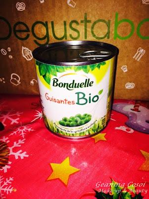 Guisantes bio Bonduelle Degustabox Diciembre 2015