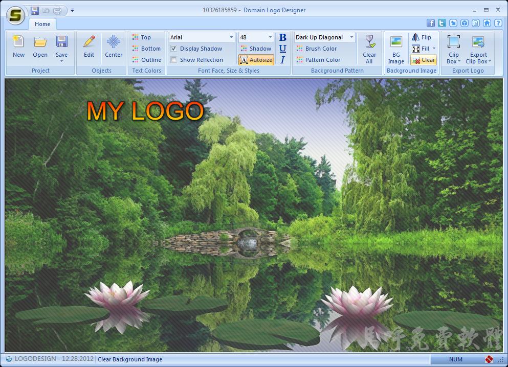 免費網站Logo製作軟體 - Domain Logo Designer,替Blog、網站製作 Logo、Banner