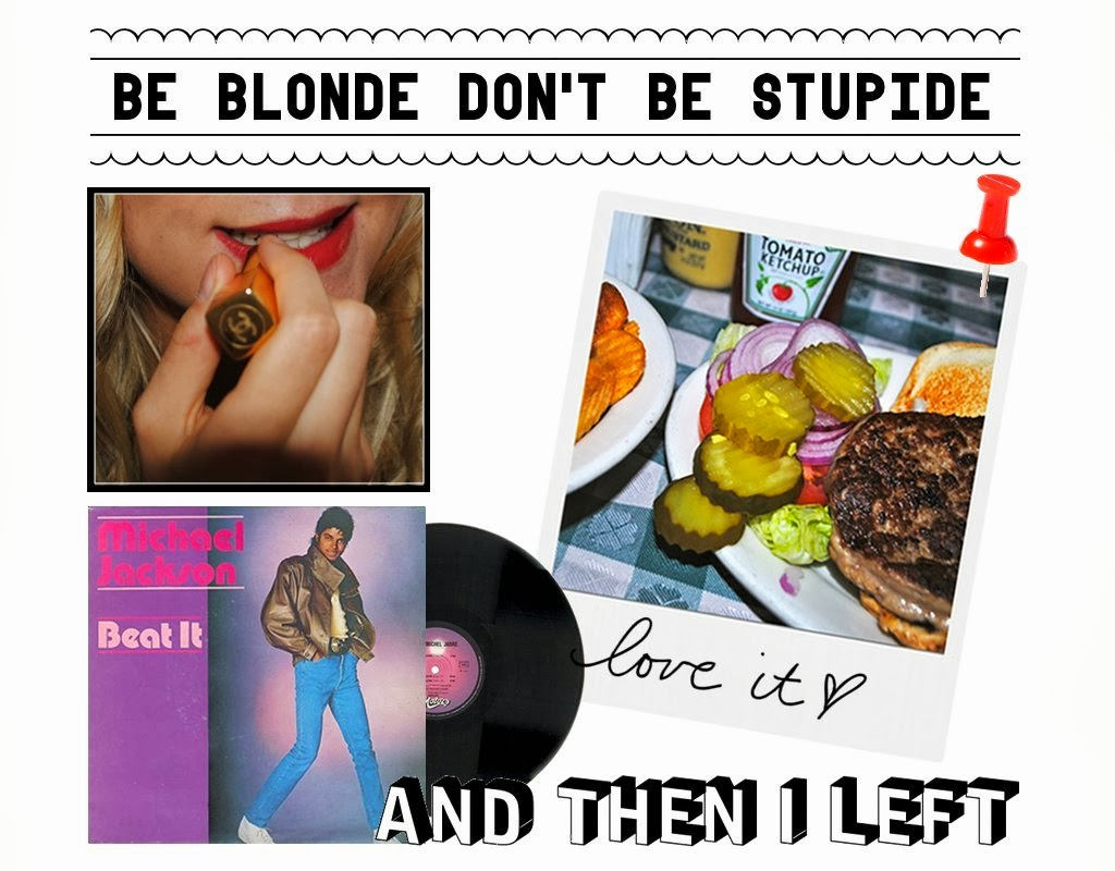 Be Blonde Don't Be Stupid  l  By Iva S.