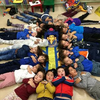 ¡¡¡Descansamos como momias!!!